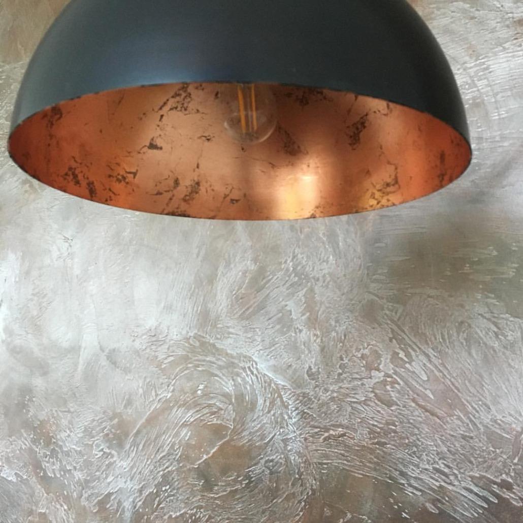Stucwerk oxidestuc metallic metalstuc goud
