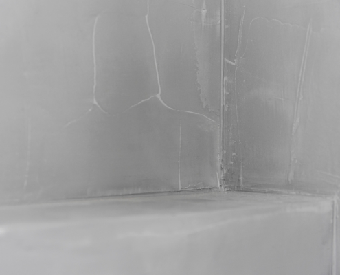 Betonlook stucwerk badkamer