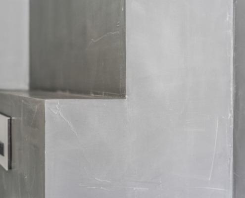Betonlook badkamer stucwerk