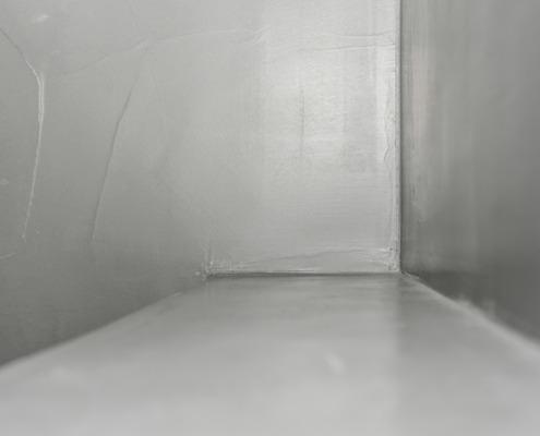 Afwerking badkamer beton cire