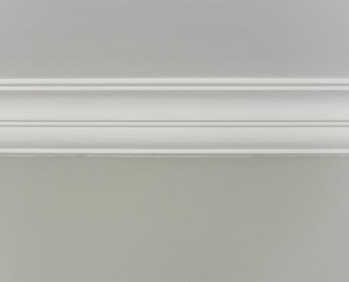 Herstel plafondlijsten en stucwerk