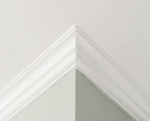 Detail wanden en plafond Hamont