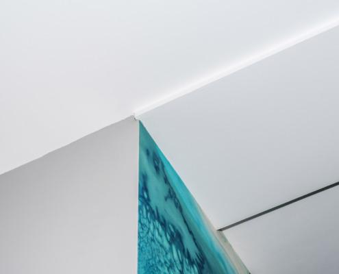 Detail stucwerk plafond Schoonhoven