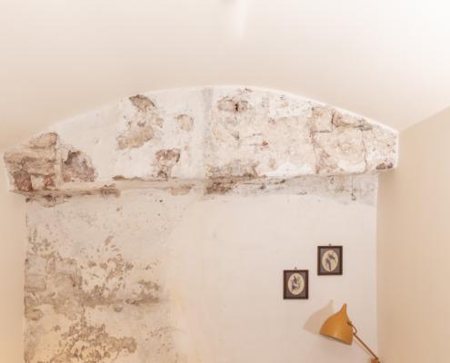 Kunstig stucwerk in de gewelven van Utrecht