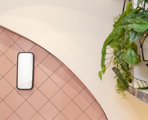 Schitterende afwerking stucwerk Mary K Hotel Utrecht