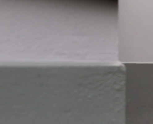 Detail stucwerk buitengevel